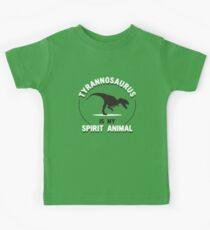 Tyrannosaurus Is My Spirit Animal Kids Clothes