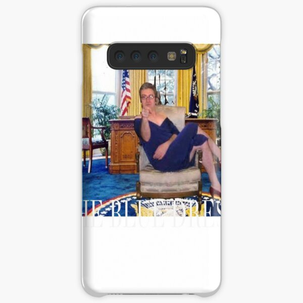 Clinton in Blue Dress  Samsung Galaxy Snap Case