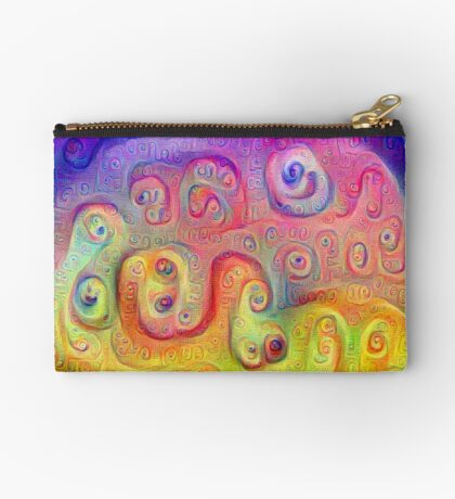 DeepDream Violet to Yellow 5K Studio Pouch