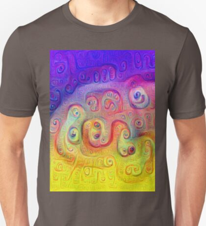 DeepDream Violet to Yellow 5K T-Shirt