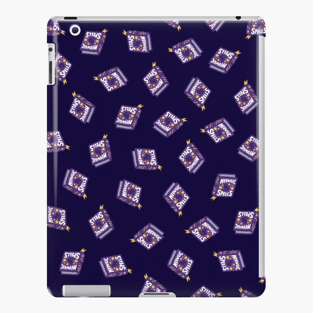Meowgic Spells Book in Dark Purple iPad Snap Case
