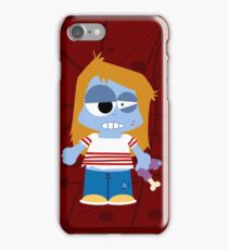 Zombie Girl iPhone Case/Skin