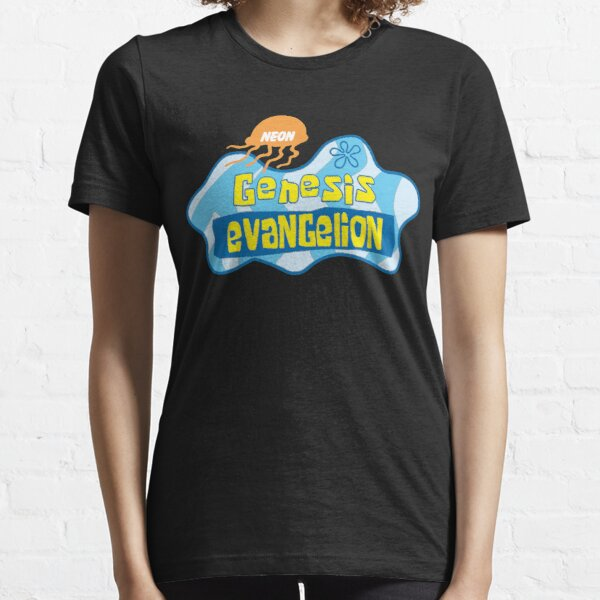 Neon Genesis Evangelion X Spongebob Sqaurepants Essential T-Shirt