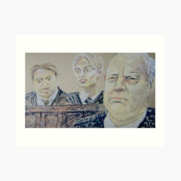 The Mucklowes in Court Art Print