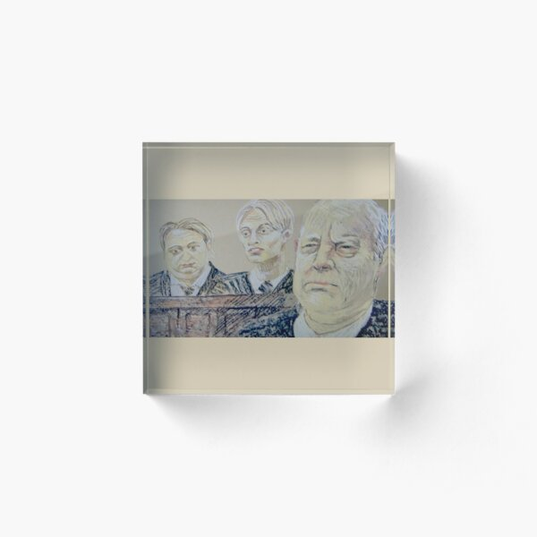 The Mucklowes in Court Acrylic Block