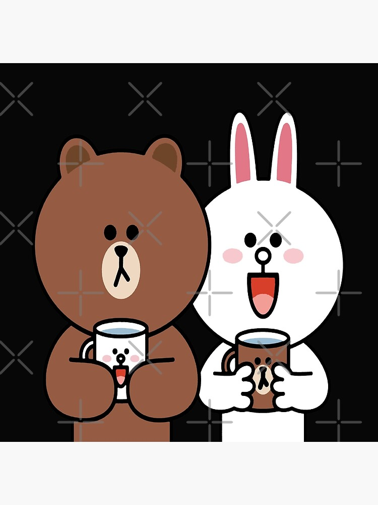 Cute brown bear cony bunny rabbit lovers by tommytbird