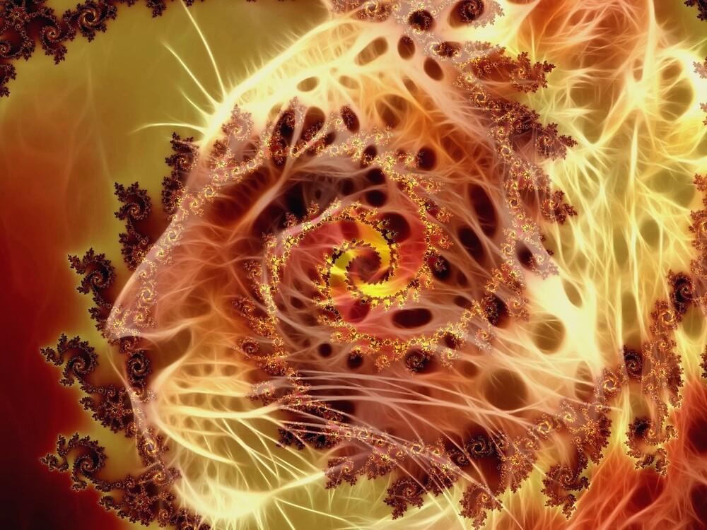 Golden Leopard by Brian Exton