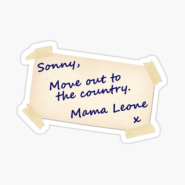 Mama Leone Sticker