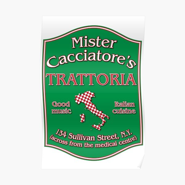 Mister Cacciatore's Poster