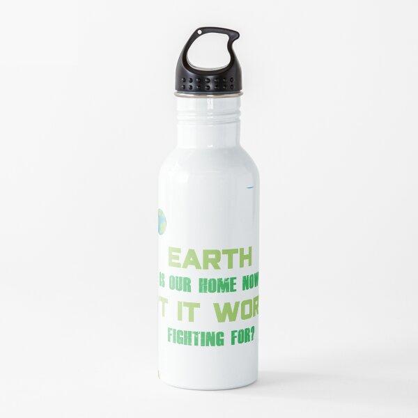 SU Peridot Earth Day Design Water Bottle