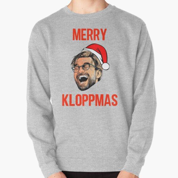 Merry Kloppmas Jürgen Klopp Liverpool Weihnachten Damen Hoodie
