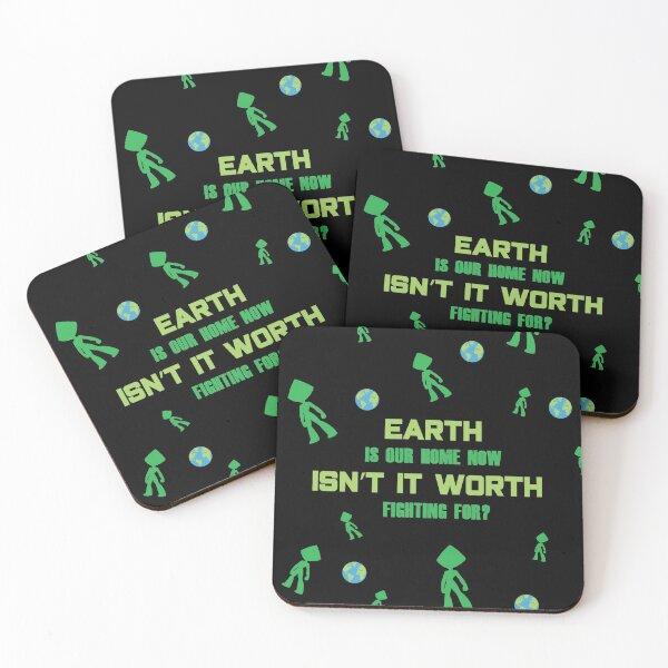 SU Peridot Gem Coasters (Set of 4)