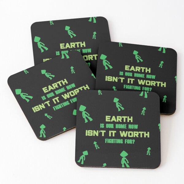 SU Peridot Quote Coasters (Set of 4)
