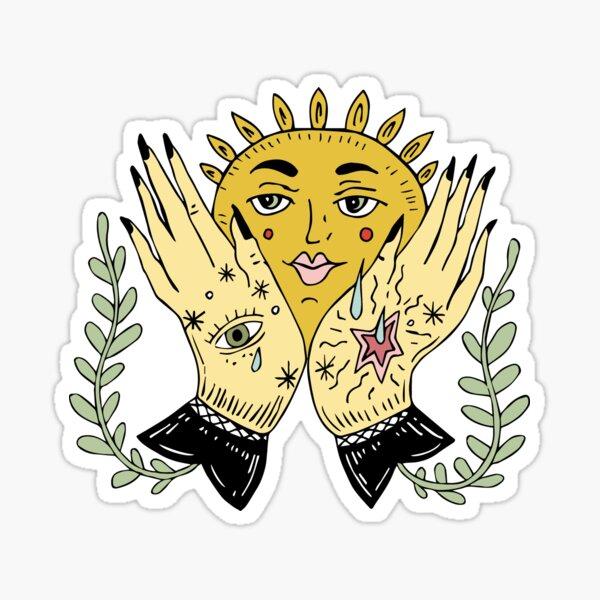 Herbal SUN Sticker