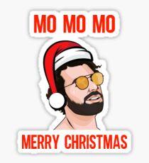 Pegatina Mo Mo Mo Feliz Navidad, Liverpool FC Mo Salah