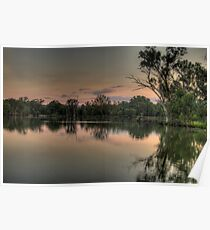 River Dance - Murray River, NSW Australia - The HDR Experience Poster