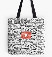 Youtube Tote Bag