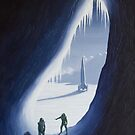Exploring the ice cave by Linda Marques