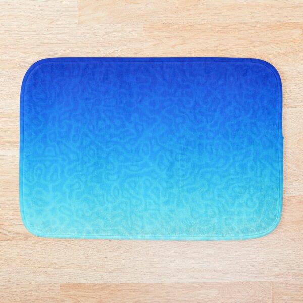 Brash & Sassy Blue Bath Mat