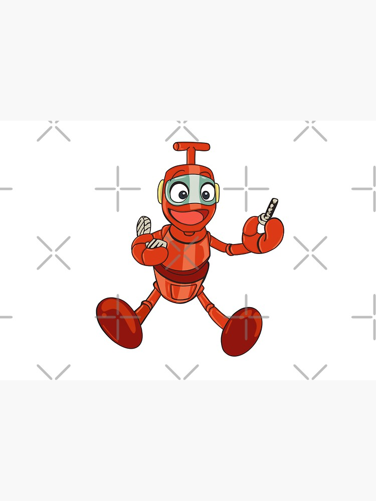 Nono the little robot, character of Ulysse 31 by MimieTrouvetou