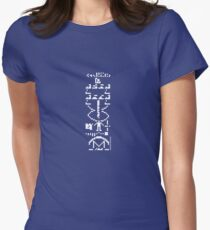 The Arecibo Message Womens Fitted T-Shirt