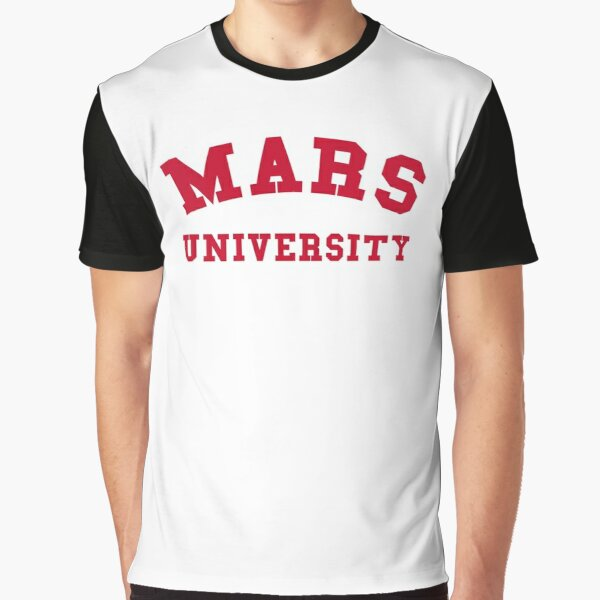 Mars University Graphic T-Shirt