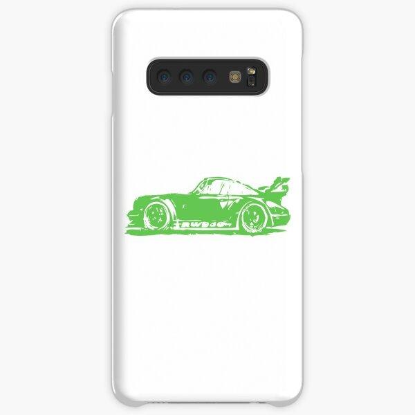 Green Porsche 911 Samsung Galaxy Snap Case