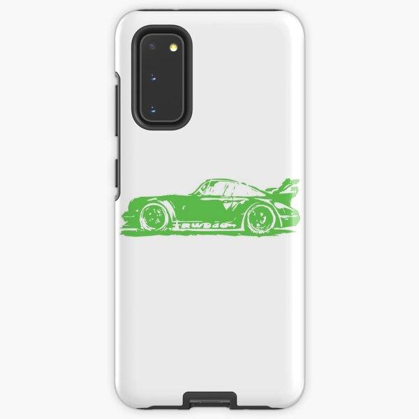 Green Porsche 911 Samsung Galaxy Tough Case