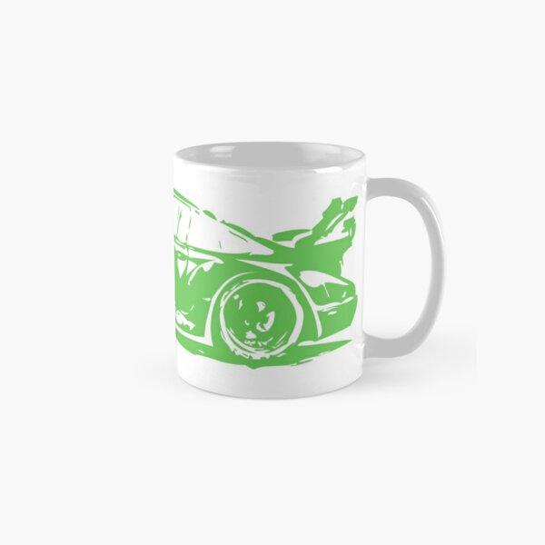 Green Porsche 911 Classic Mug
