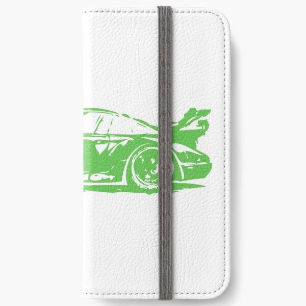 Green Porsche 911 iPhone Wallet