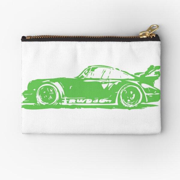 Green Porsche 911 Zipper Pouch