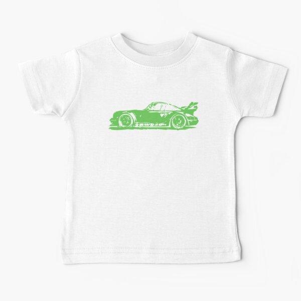 Green Porsche 911 Baby T-Shirt
