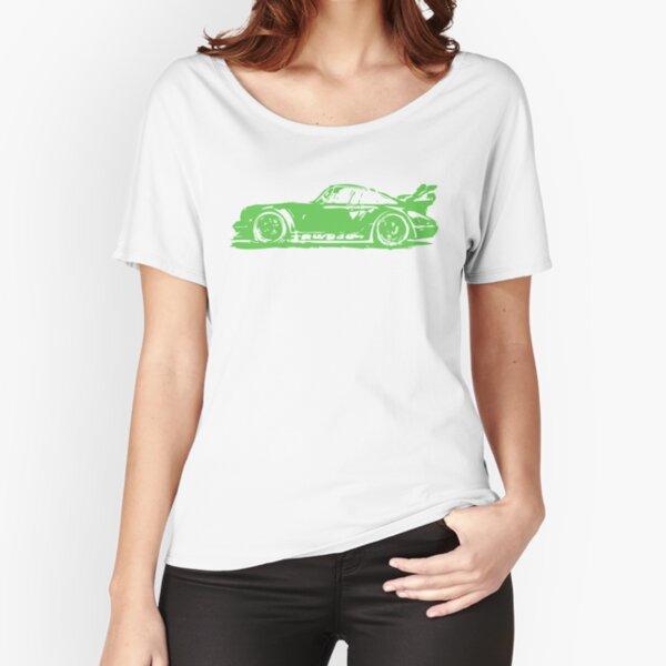 Green Porsche 911 Relaxed Fit T-Shirt