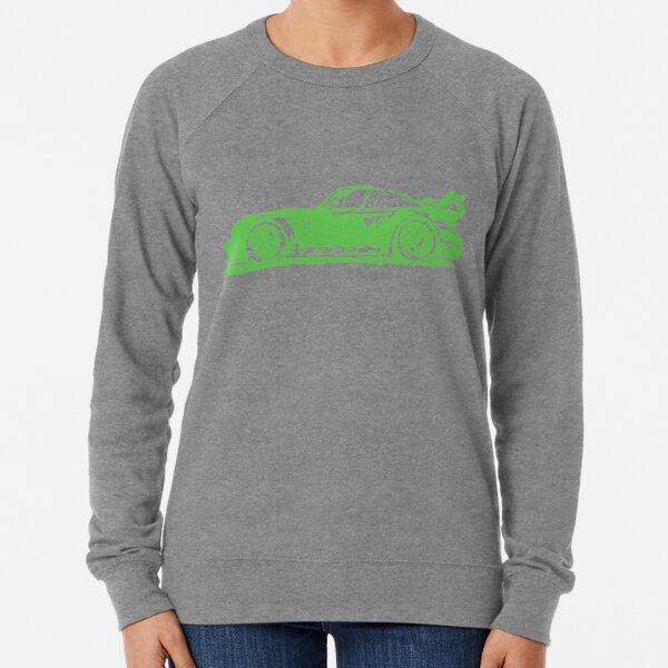 Green Porsche 911 Lightweight Sweatshirt