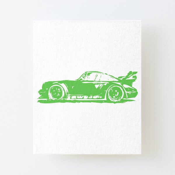 Classica Porsche 911-FINE ART PRINT-Touring Targa Turbo /& CARRERA ILLUSTRATO