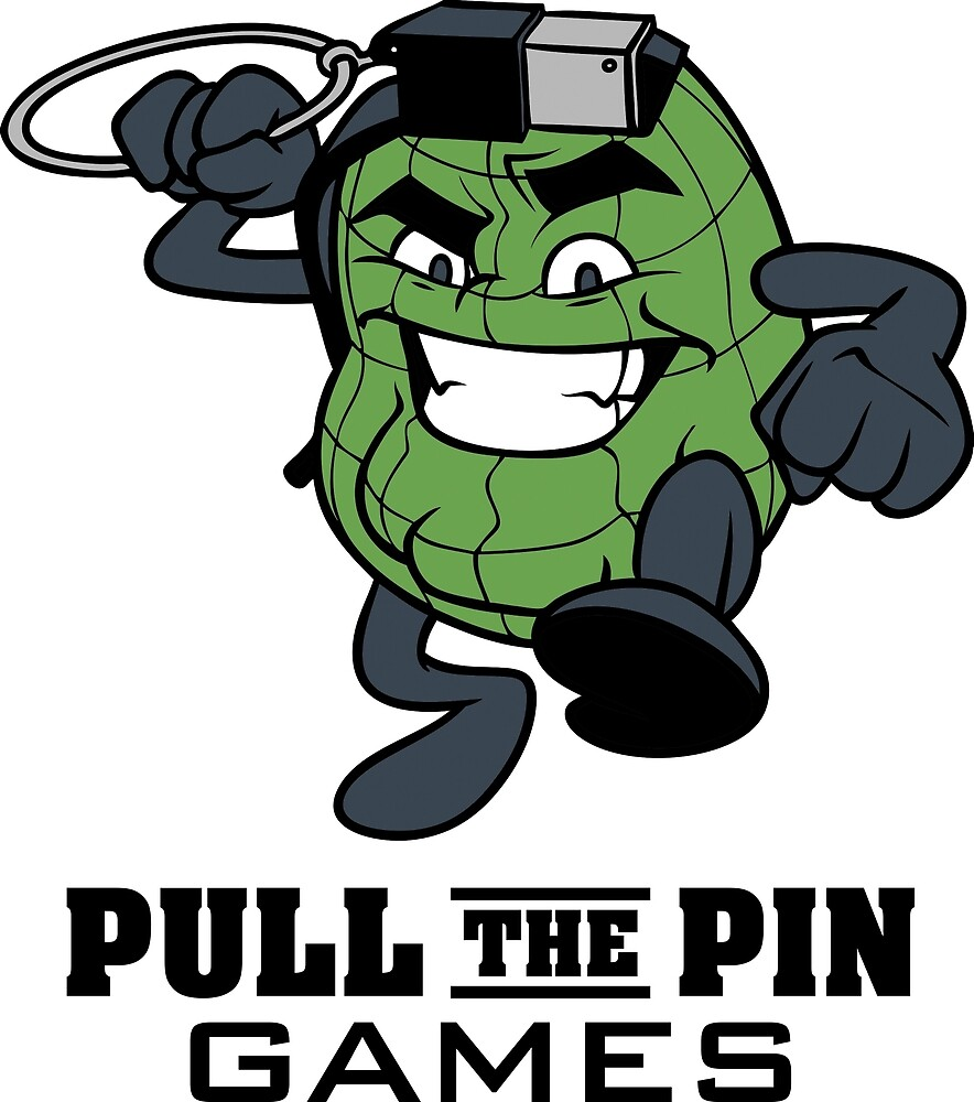 Pull the Pin Games Logo with Name by pullthepin