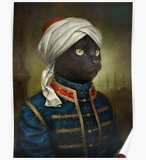 Die Hermitage Court Moor Katze Poster
