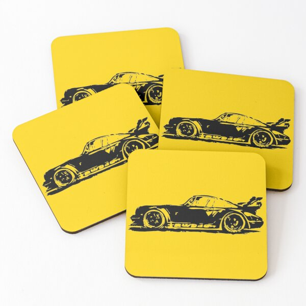 Porsche 911 Coasters (Set of 4)