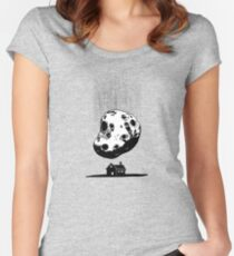 Trouble at Home Women's Fitted Scoop T-Shirt