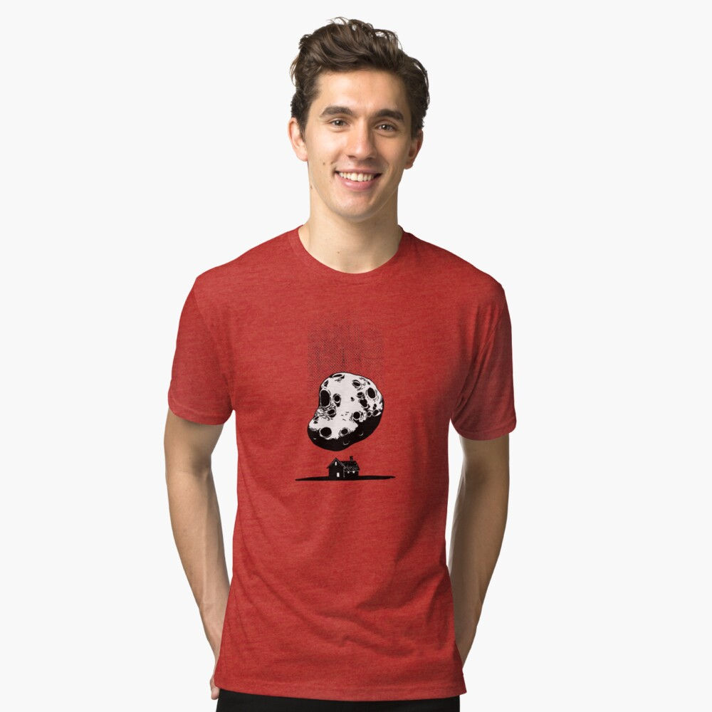 Trouble at Home Tri-blend T-Shirt