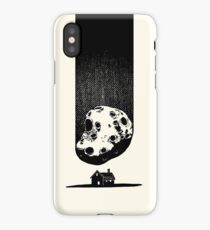 Trouble at Home iPhone Case