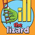 bill the lizard by Steve Wilbur