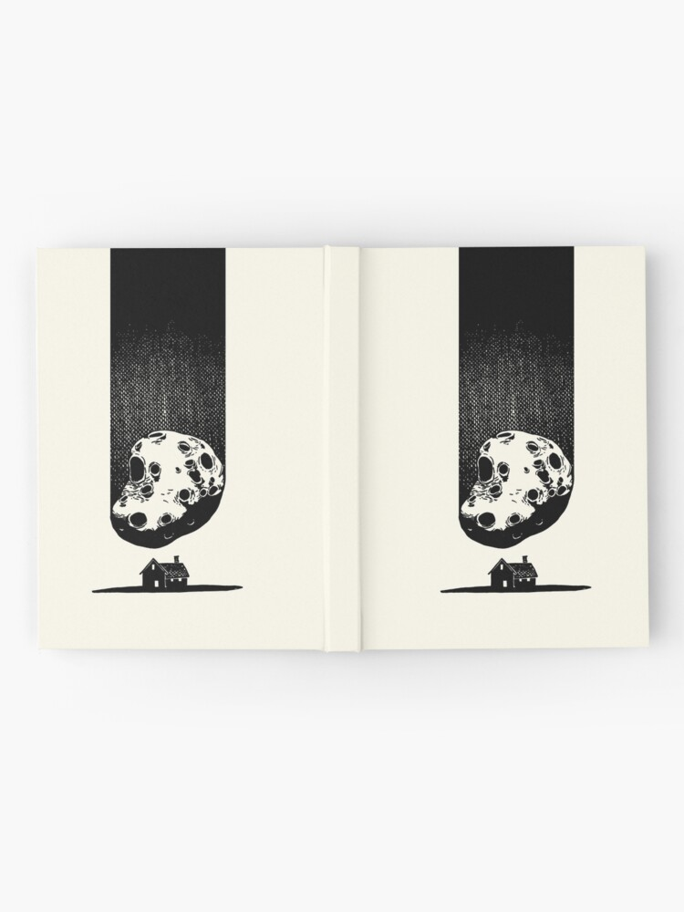 Alternate view of Trouble at Home Hardcover Journal