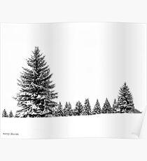 Winter Morning Poster