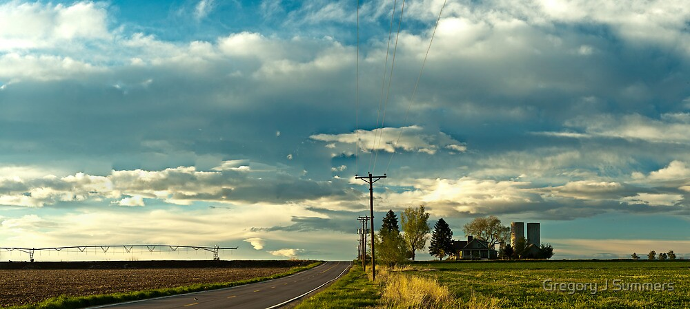 Great Plains Farmland by Gregory J Summers