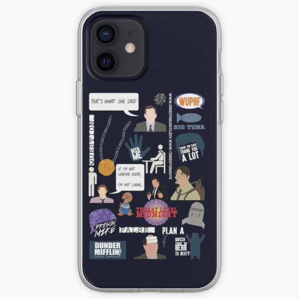 The US Office Collection iPhone Soft Case
