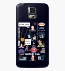 Die US-Office-Sammlung Hülle & Klebefolie für Samsung Galaxy