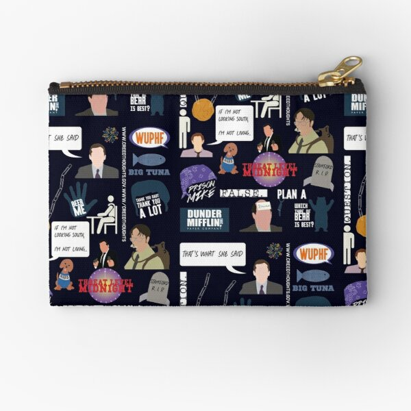 The US Office Collection Zipper Pouch