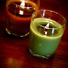 Holiday Candles by Edward Myers