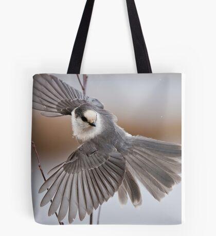 Gray Jay Take Off Tote Bag